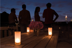 LED candle outdoor lighting